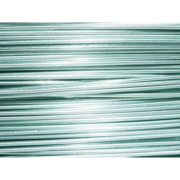 5 Mètres fil aluminium bleu glacé 0.8mm - Photo n°1