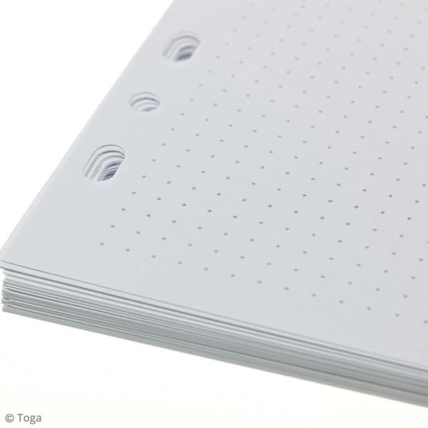 Pages pour Planner - Pointillés - A5 - 36 pages - Photo n°2