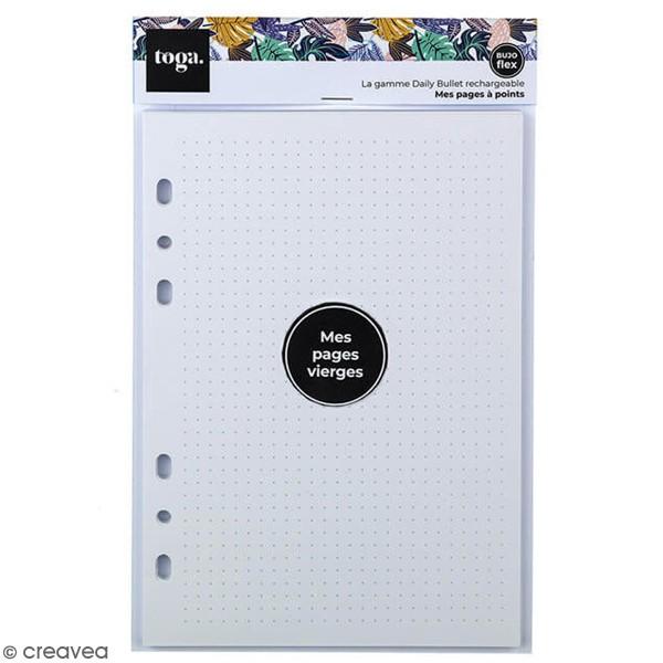 Pages pour Planner - Pointillés - A5 - 36 pages - Photo n°1