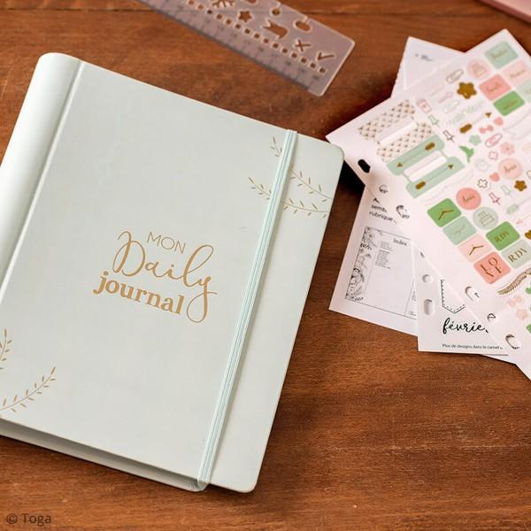 Kit de démarrage Bullet journal - Mon daily journal - 64 pages - Photo n°5
