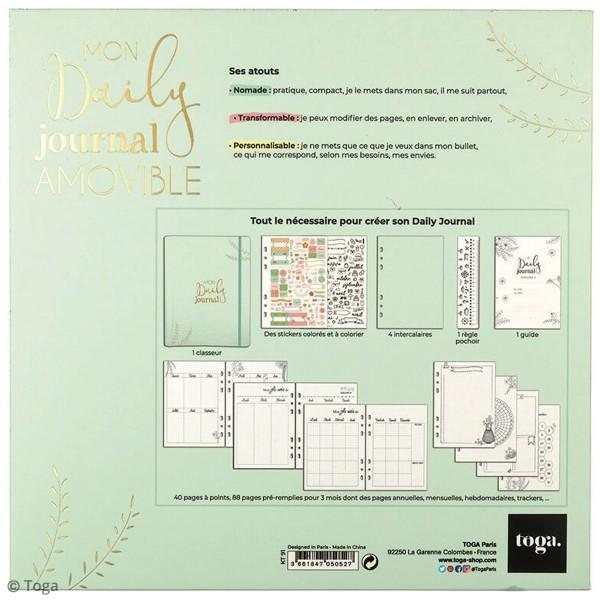 Kit de démarrage Bullet journal - Mon daily journal - 64 pages - Photo n°6