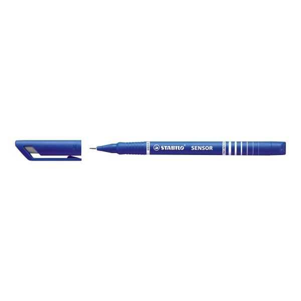 Feutre SENSOR - Fineliner 0.3 - Bleu - Photo n°1