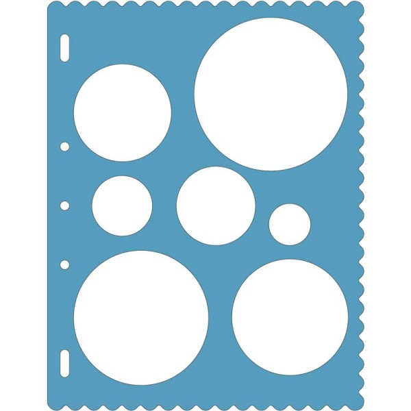 Gabarits de découpe Rond ShapeTemplate pour Shape Cutter - Photo n°1
