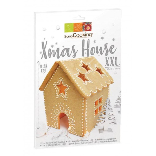Coffret Ma Maison en biscuits XXL - Photo n°1