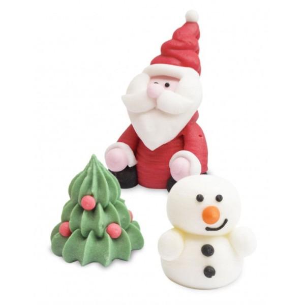 Décorations en sucre en relief 3D - Noël - Photo n°2
