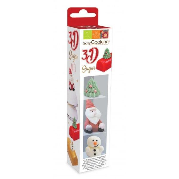 Décorations en sucre en relief 3D - Noël - Photo n°1