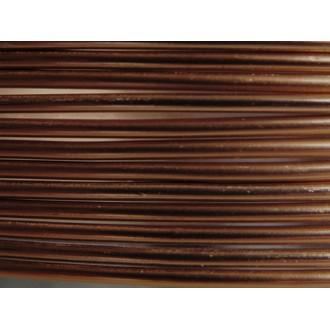 10 Mètres fil aluminium chocolat 1,5mm