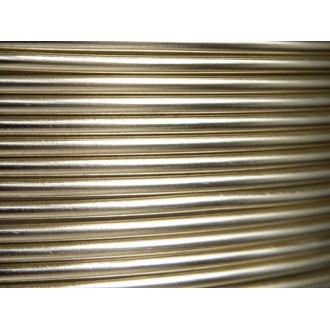 10 Mètres fil aluminium perle 1,5mm