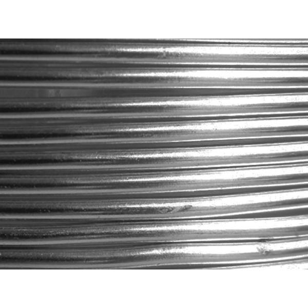 5 Mètres fil aluminium anthracite 3mm - Photo n°1