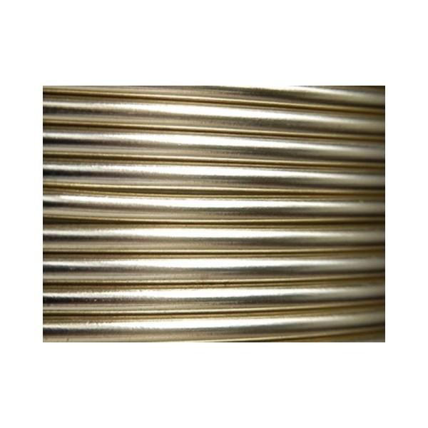 10 Mètres fil aluminium perle 3mm - Photo n°1