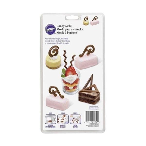 Moules - Décorations de desserts - Photo n°1