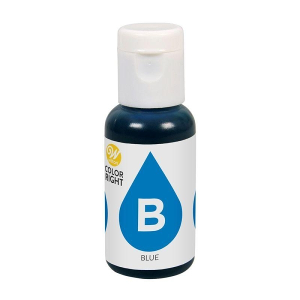 Colorant alimentaire Color Right - Bleu - 19 ml - Photo n°1
