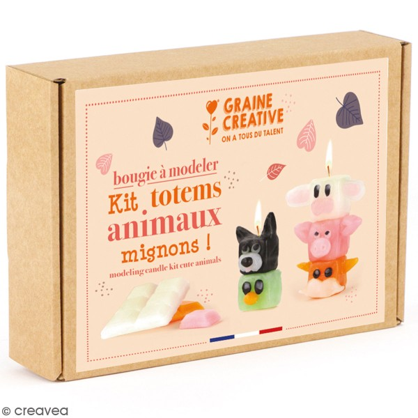 Kit Bougies - Totem animaux - Photo n°1