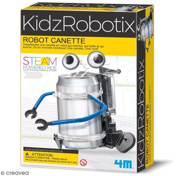 Kit scientifique Kidz Robotix - Fabrique un robot canette - Photo n°1