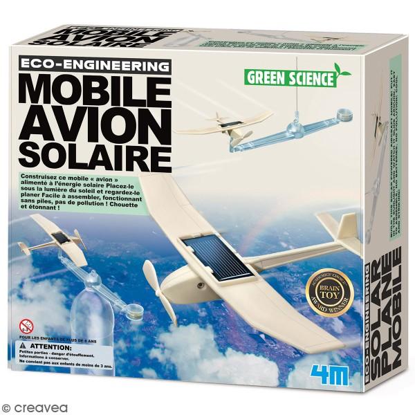 Kit scientifique 4M - Mobile avion solaire - Photo n°1