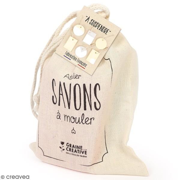 Pochette créative Mon atelier savons - Savons à suspendre - Photo n°1