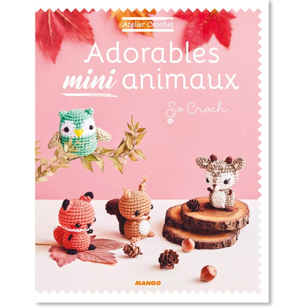 Livre crochet amigurumi - Adorables mini animaux - Photo n°1
