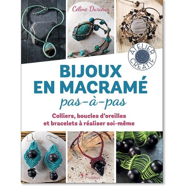 Livre Tissage macramé - Bijoux macramé pas-à-pas - Photo n°1