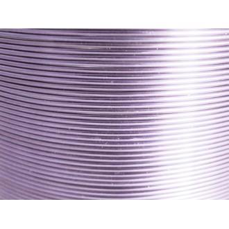 370 Mètres fil aluminium lilas clair 0.8 mm