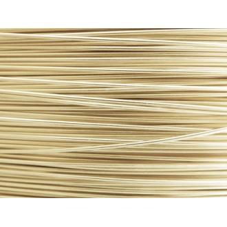 10 Mètres fil aluminium perle 0.8 mm