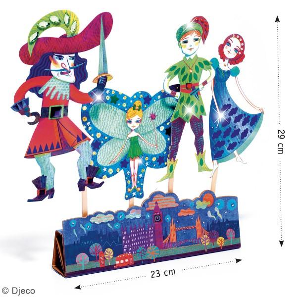 Kit Do it Yourself - Marionnettes à décorer - Peter Pan - 4 pcs - Photo n°2