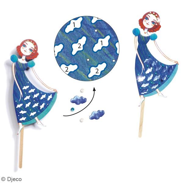 Kit Do it Yourself - Marionnettes à décorer - Peter Pan - 4 pcs - Photo n°3