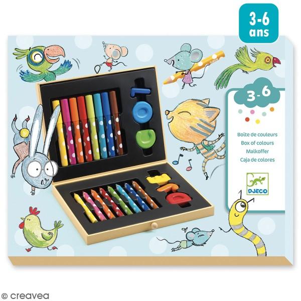 Boîte de couleurs pour les petits - 22 pcs - Photo n°1