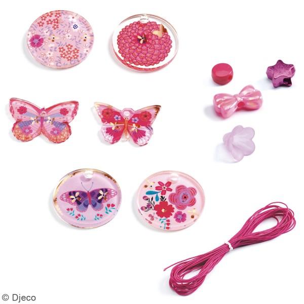Kit bijoux Djeco - Perles fantaisies - Papillons - 288 pcs - Photo n°2
