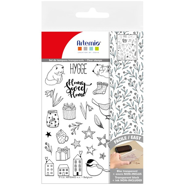 Tampons Clear - Noël Cosy - 21 pcs - Photo n°2