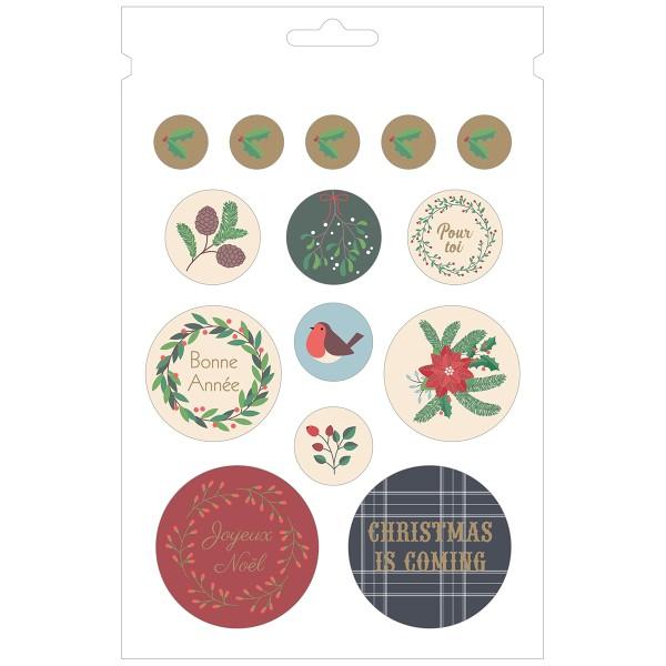 Carnet de Stickers - Joyeux Noël - 168 pcs - Photo n°2