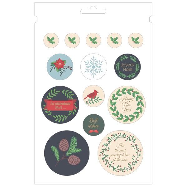Carnet de Stickers - Joyeux Noël - 168 pcs - Photo n°3