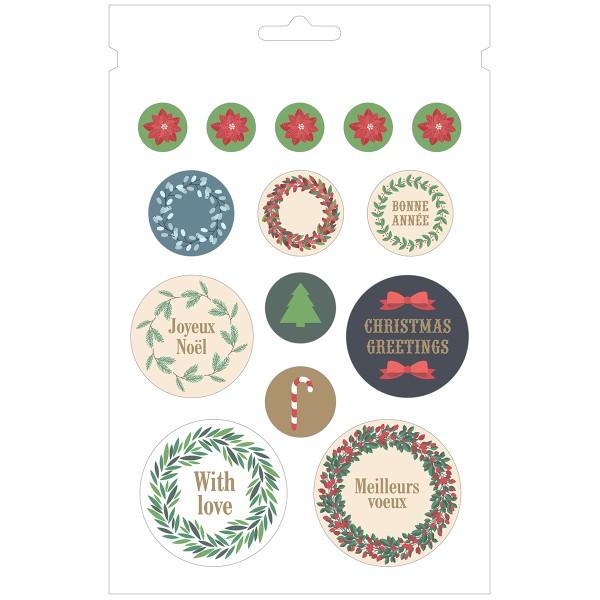 Carnet de Stickers - Joyeux Noël - 168 pcs - Photo n°4