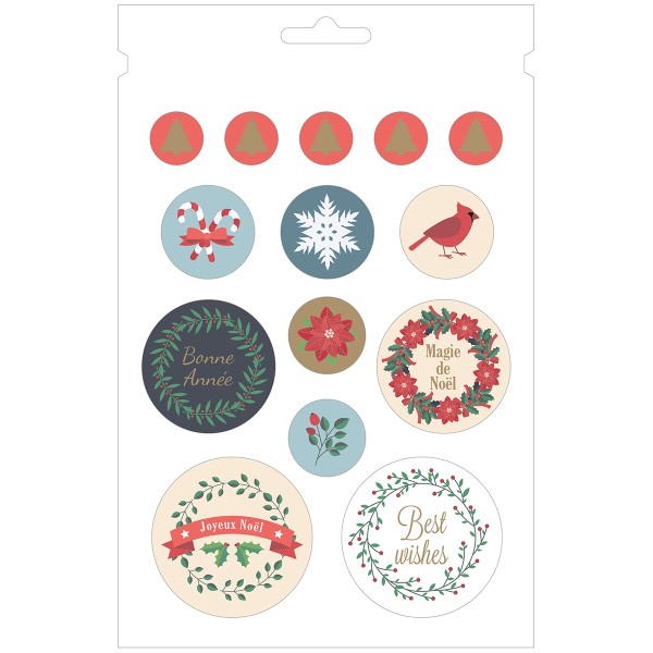 Carnet de Stickers - Joyeux Noël - 168 pcs - Photo n°5