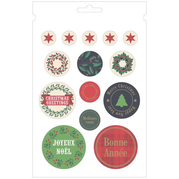 Carnet de Stickers - Joyeux Noël - 168 pcs - Photo n°6