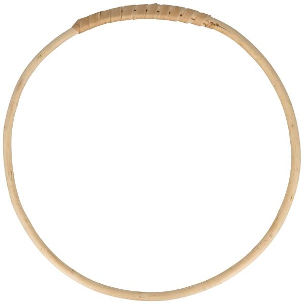 Cercle en bois osier - 30 cm - Photo n°1