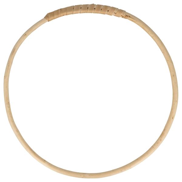 Cercle en bois osier - 25 cm - Photo n°1