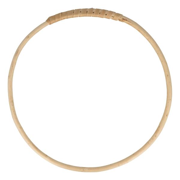 Cercle en bois osier - 20 cm - Photo n°1