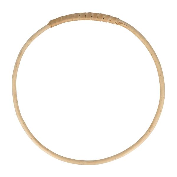 Cercle en bois osier - 15 cm - Photo n°1