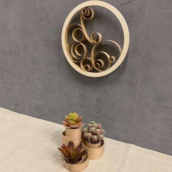 Rouleau de placage bois - 20 x 125 cm - Photo n°2