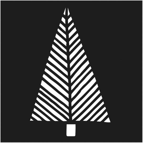 Assortiment de pochoirs de Noël - 9 x 9 cm - 12 pcs - Photo n°6