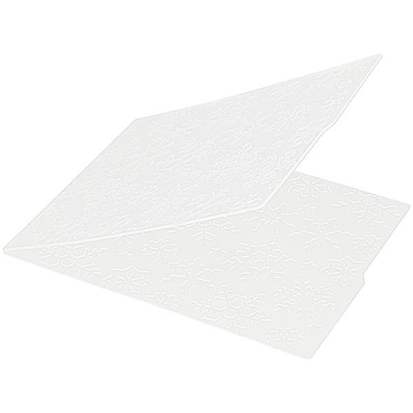 Matrice d'embossage - Grands Flocons - 11 x 15 cm - Photo n°2