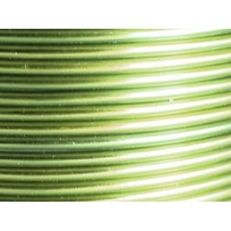 25 Mètres fil aluminium menthe 3mm