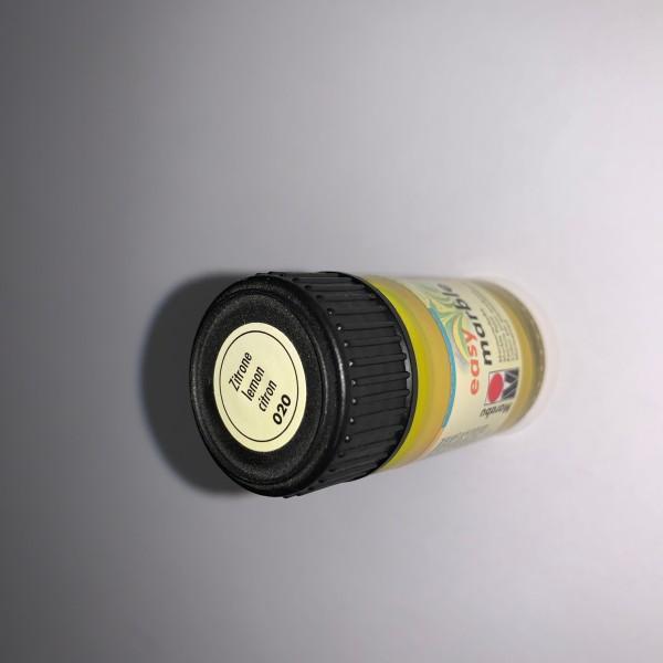 Peinture marbrure couleur citron 020 - Photo n°2