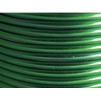 25 Mètres fil aluminium vert foncé 3mm
