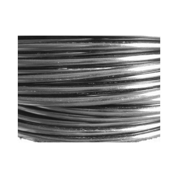 10 Mètres fil aluminium anthracite 4mm - Photo n°1
