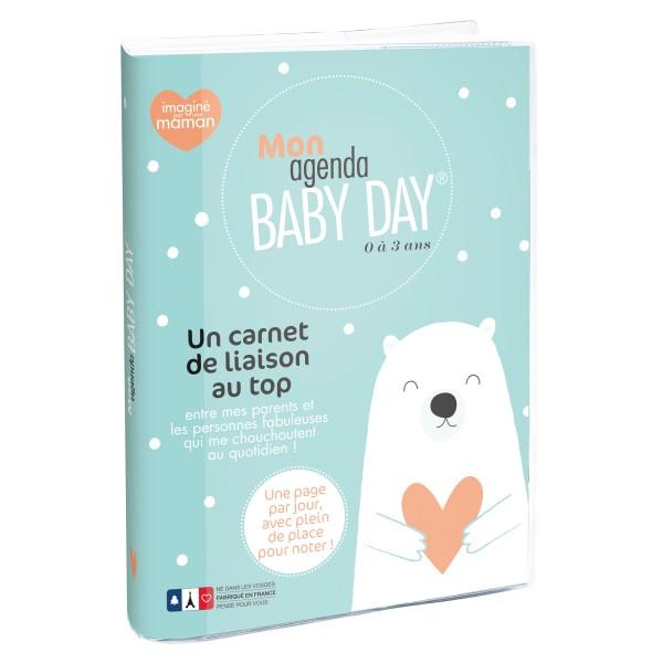 Agenda Baby Day  - 15x21 cm - Journalier - Perpétuel - Photo n°1