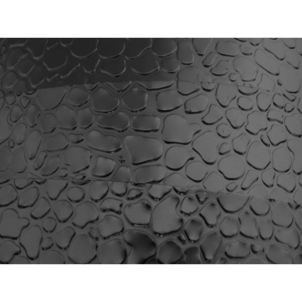 3 Mètres fil aluminium plat optique noir 30mm - Photo n°1