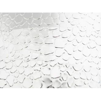 1 Mètre fil aluminium plat optique argent 15mm