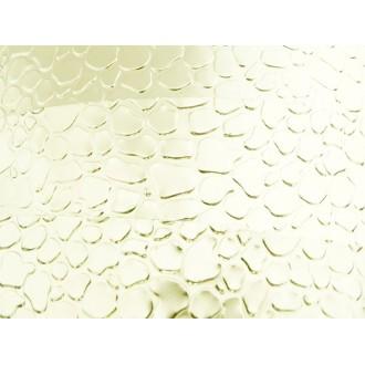 1 Mètre fil aluminium plat optique perle 15mm