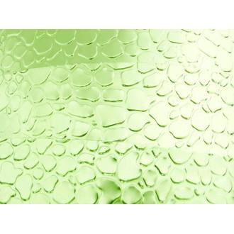 1 Mètre fil aluminium plat optique vert pomme 15mm